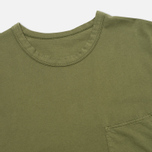 Мужская футболка Universal Works Pocket Olive Jersey фото- 1