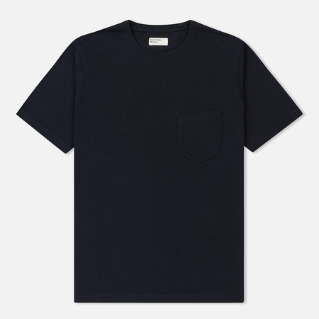 Мужская футболка Universal Works Pocket Single Jersey Navy