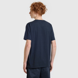 Мужская футболка Universal Works Pocket Single Jersey Navy фото- 6