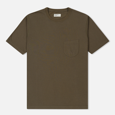 Мужская футболка Universal Works Pocket Single Jersey Olive