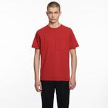 Мужская футболка Universal Works Pocket Single Jersey Red фото- 4