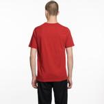 Мужская футболка Universal Works Pocket Single Jersey Red фото- 5