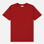 Мужская футболка Universal Works Pocket Single Jersey Red фото- 0