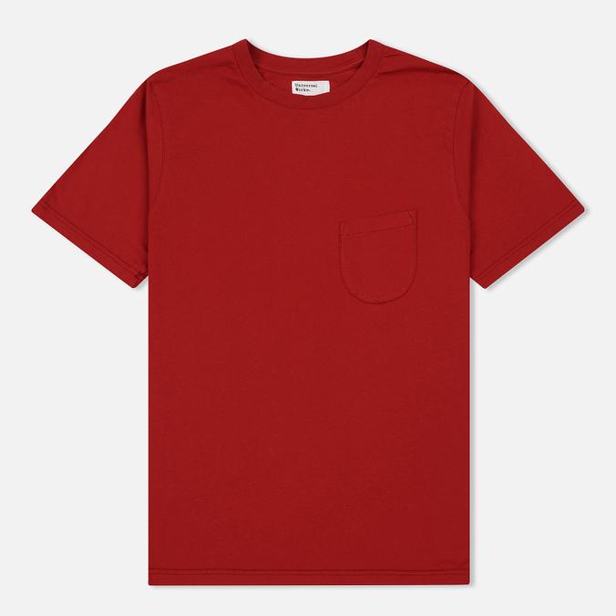 Мужская футболка Universal Works Pocket Single Jersey Red