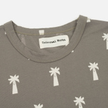 Мужская футболка Universal Works Print Palm Jersey Dark Stone фото- 1