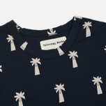 Мужская футболка Universal Works Print Palm Jersey Navy фото- 1