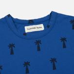 Мужская футболка Universal Works Print Palm Jersey Royal Blue фото- 1