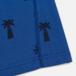 Мужская футболка Universal Works Print Palm Jersey Royal Blue фото- 2