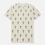 Мужская футболка Universal Works Print Palm Jersey Sand Marl фото- 0