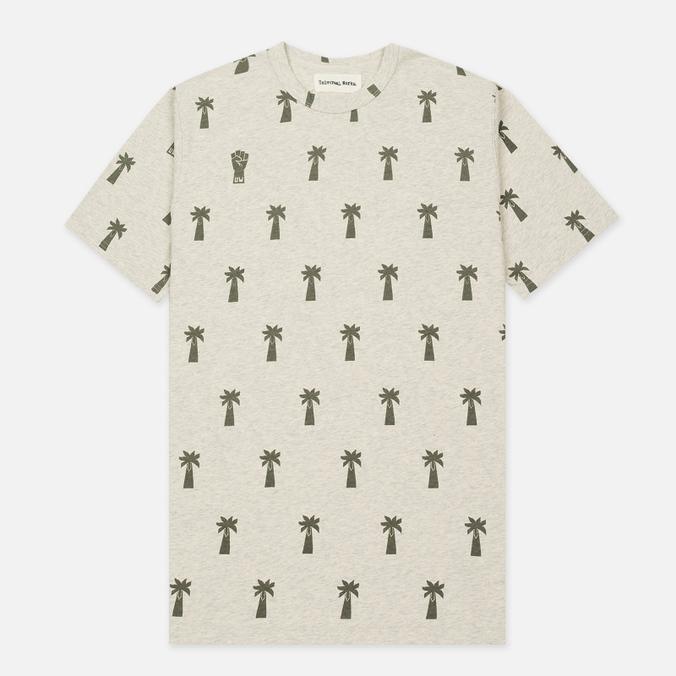 Мужская футболка Universal Works Print Palm Jersey Sand Marl