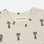 Мужская футболка Universal Works Print Palm Jersey Sand Marl фото- 1