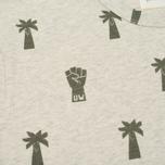 Мужская футболка Universal Works Print Palm Jersey Sand Marl фото- 2