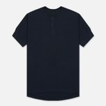 Мужская футболка Universal Works S/S Eaton Single Jersey Navy фото- 0