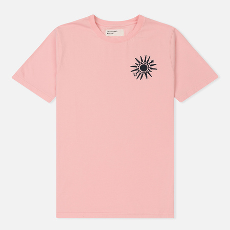 Мужская футболка Universal Works Sun Print Jersey Strawberry