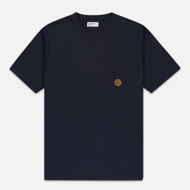 Мужская футболка Universal Works UW Print Single Jersey Navy