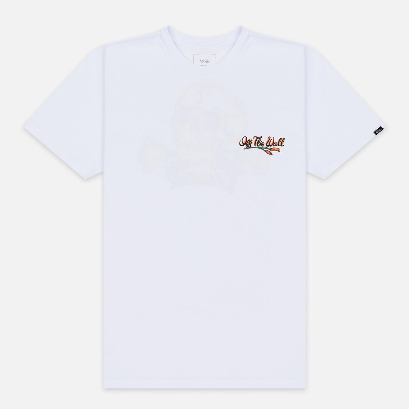 Мужская футболка Vans Bad Trip White