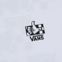 Мужская футболка Vans BMX Green Lighted White фото- 2