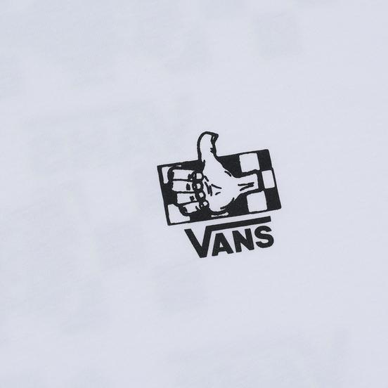 Мужская футболка Vans BMX Green Lighted White