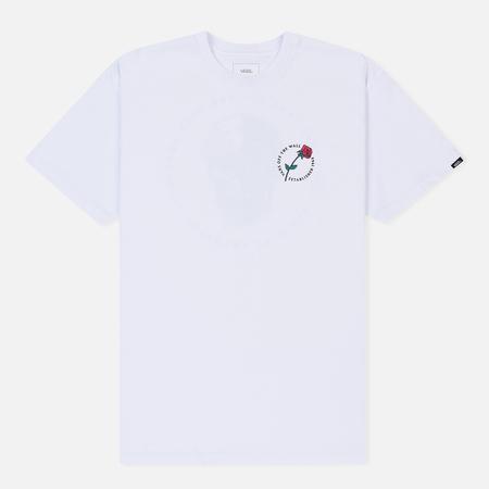 Мужская футболка Vans Coming Up Roses White