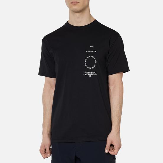 Мужская футболка Vans Distortion Type Black