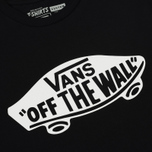 Мужская футболка Vans OTW Black/White фото- 2