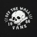 Мужская футболка Vans Shaved Bones Black фото- 2