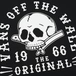 Мужская футболка Vans Shaved Bones Black фото- 5