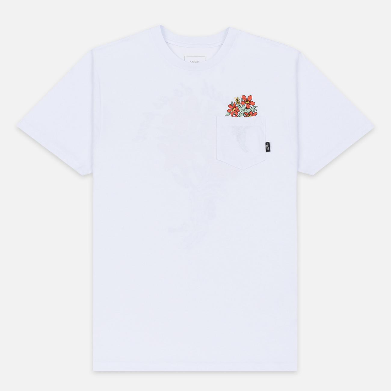 Мужская футболка Vans Til Death Pocket White
