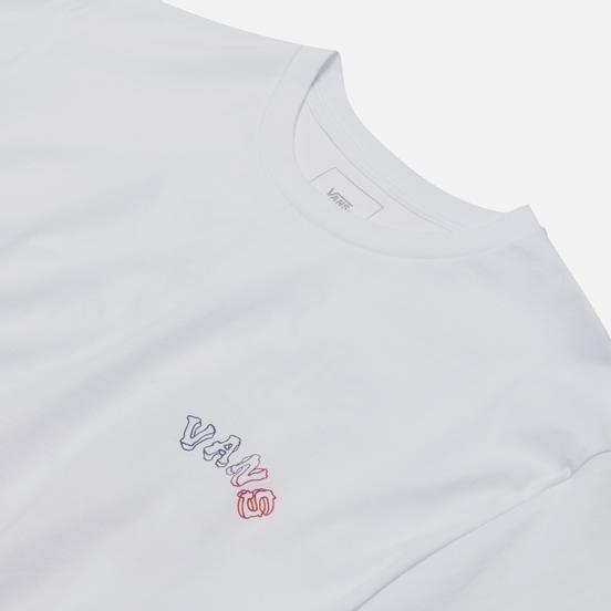 Мужская футболка Vans Tres Culebra White