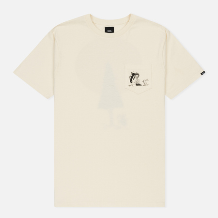 Мужская футболка Vans Yusuke Outdoors Pocket Antique White