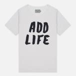 Мужская футболка Velour Add Life White Sand фото- 0