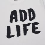 Мужская футболка Velour Add Life White Sand фото- 3