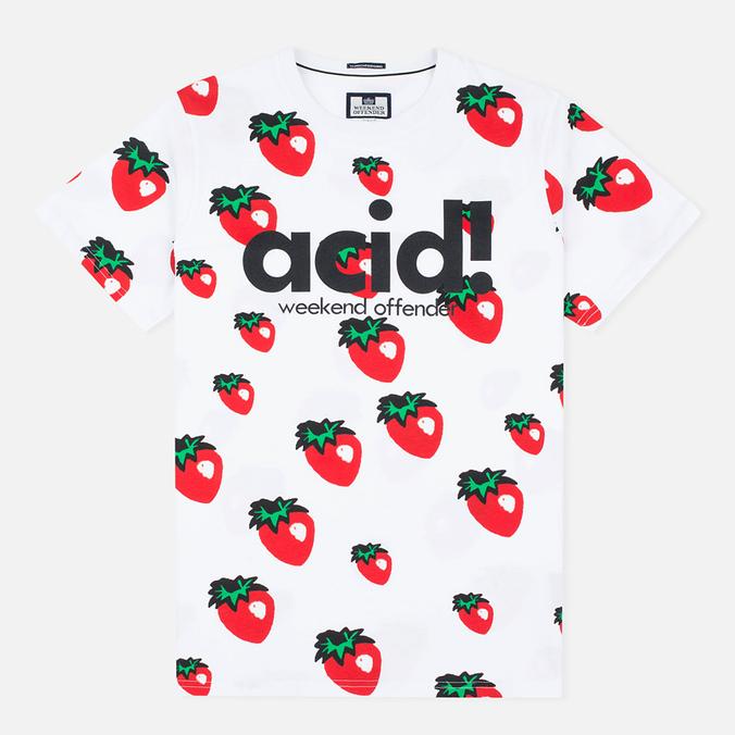 Weekend Offender Ani Men's T-shirt White