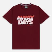 Мужская футболка Weekend Offender Away Days Graphic Garnet фото- 0