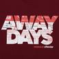 Мужская футболка Weekend Offender Away Days Graphic Garnet фото - 2