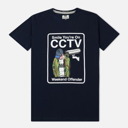 Мужская футболка Weekend Offender CCTV Navy