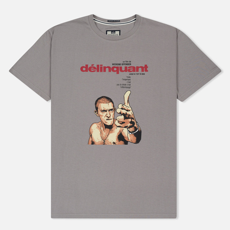 Мужская футболка Weekend Offender Delinquant Mercury