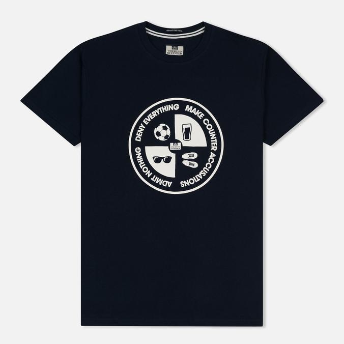 Мужская футболка Weekend Offender Deny Everything Navy