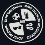 Мужская футболка Weekend Offender Deny Everything Navy фото- 2