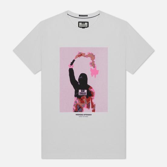 Мужская футболка Weekend Offender Flare White