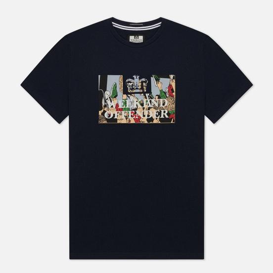 Мужская футболка Weekend Offender Foot Soldiers Navy