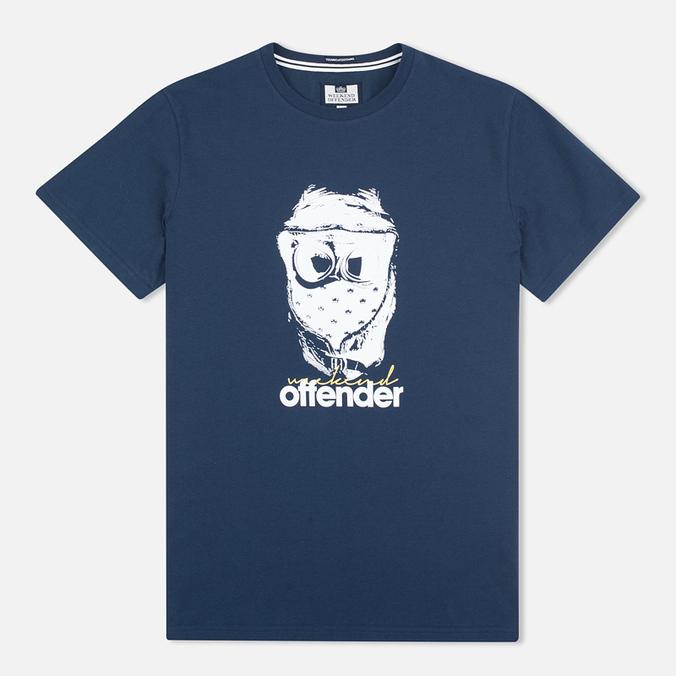 Мужская футболка Weekend Offender Goggles Navy
