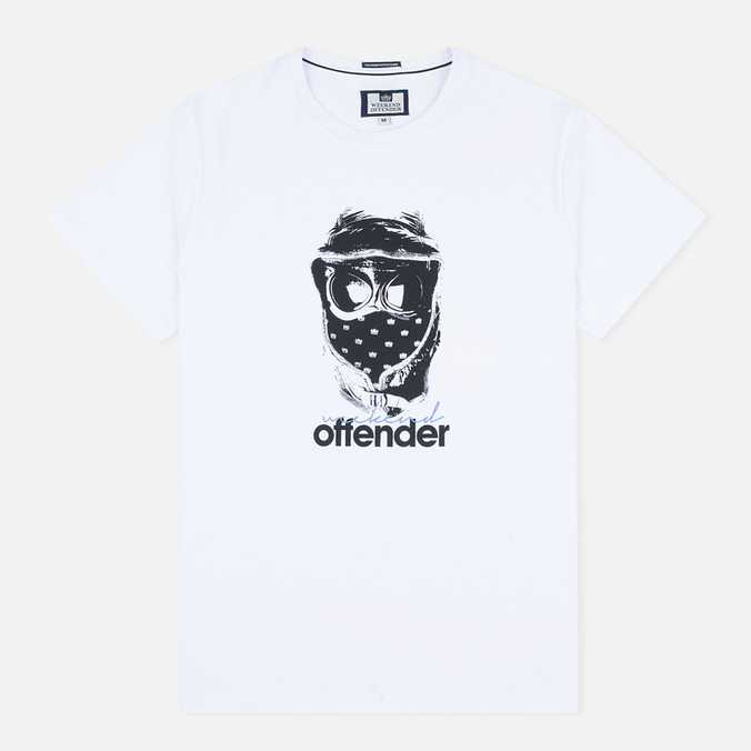 Weekend Offender Goggles Men's T-shirt White