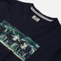Мужская футболка Weekend Offender Green Street Navy фото - 1