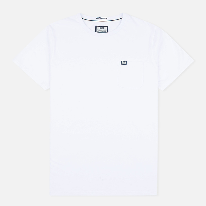 Мужская футболка Weekend Offender Griffiths White