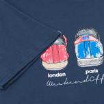 Мужская футболка Weekend Offender Heels Navy фото- 3