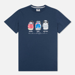 Мужская футболка Weekend Offender Heels Navy фото- 0