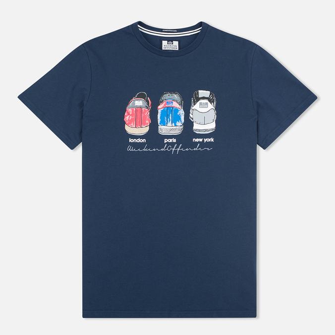 Мужская футболка Weekend Offender Heels Navy