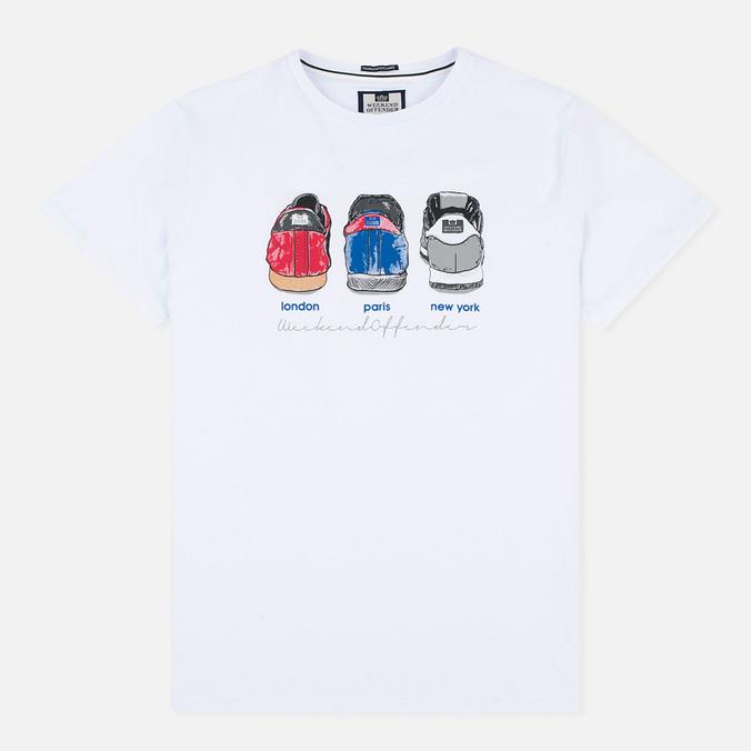 Мужская футболка Weekend Offender Heels White