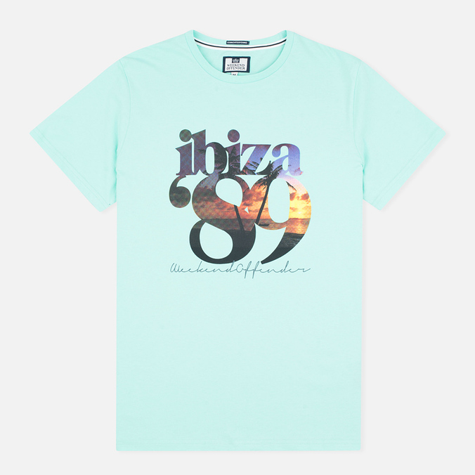 Мужская футболка Weekend Offender Ibizs 89 Teatree